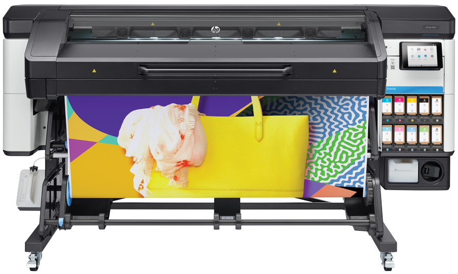 Foto van de HP Latex 700 series met wit