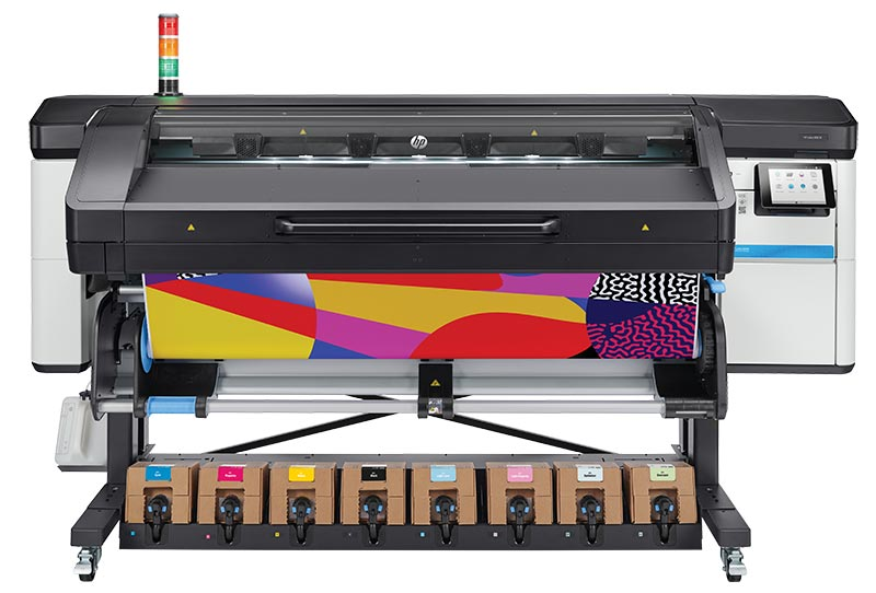 De HP Latex 800 series met wit